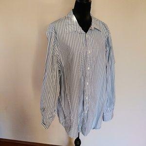 Structure premium woven button down shirt